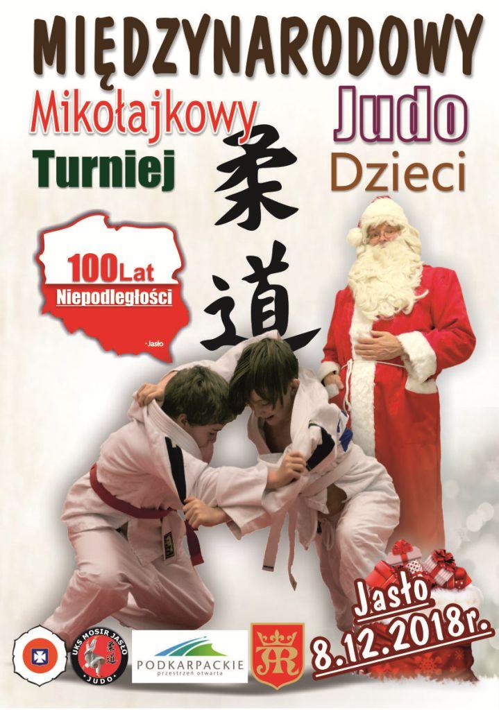 Międzynarodowy Mikołajkowy Turniej Judo dla Dzieci