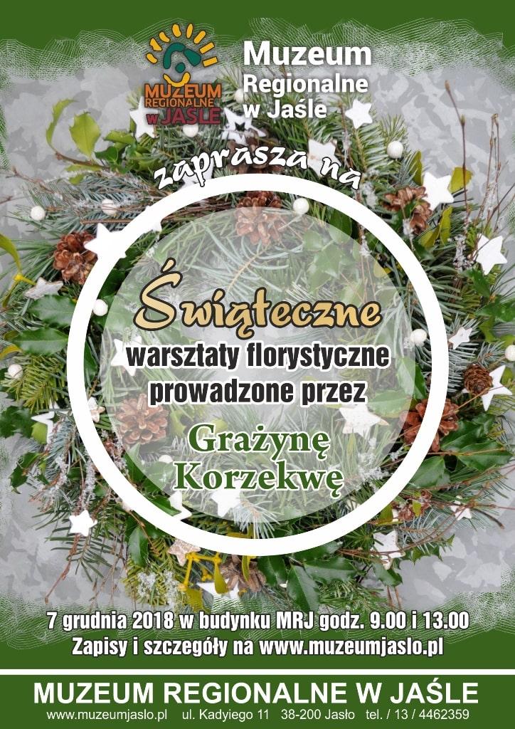 Świąteczne warsztaty florystyczne Jasło