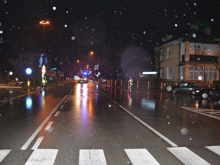Jasielska policjantka pomogła poszkodowanemu mężczyźnie