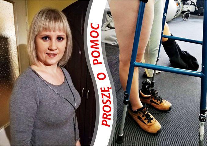 Akcja charytatywna - proteza