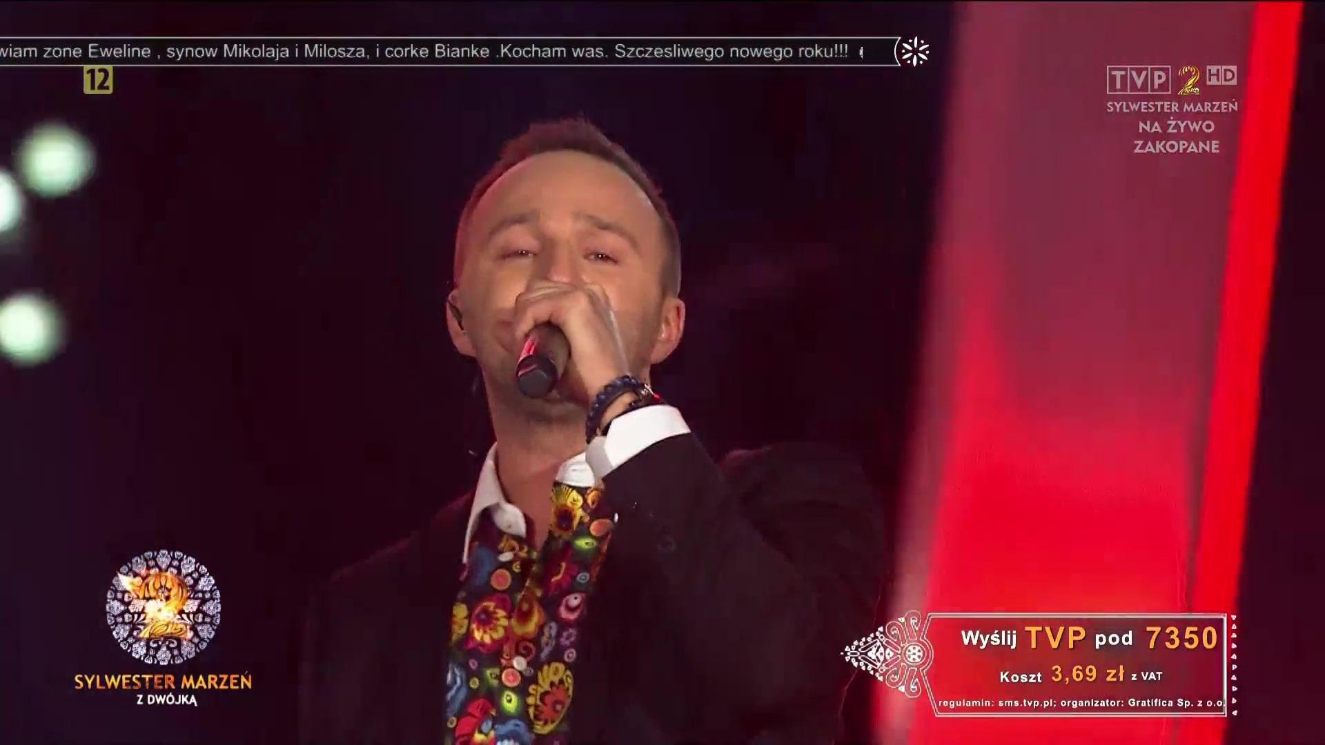Mateusz Mijal Sylwester TVP