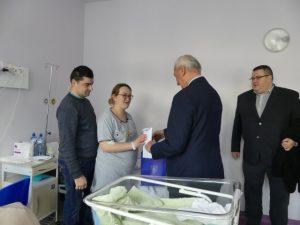 Pierwszy noworodek urodzony w jasielskim szpitalu w Nowym Roku