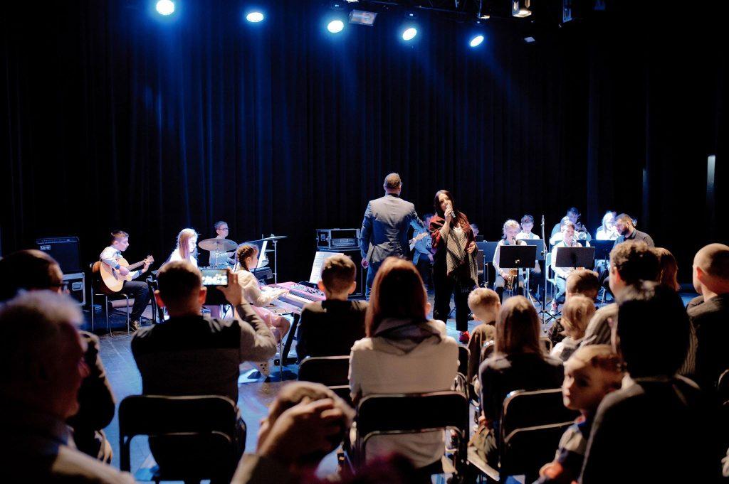 Koncert zamykający warsztaty big bandowe - Jasło