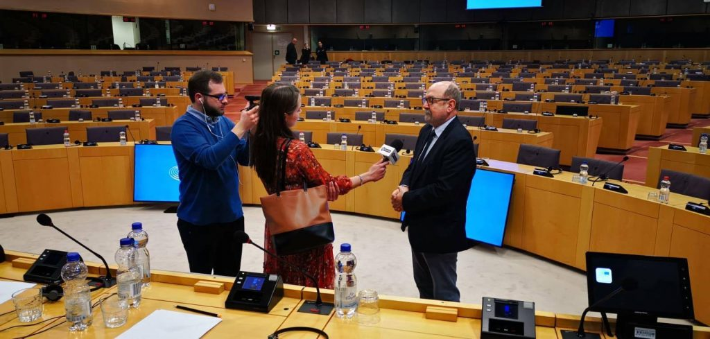 Łukasiewicz nafciarz romantyk - prapremiera w Brukseli