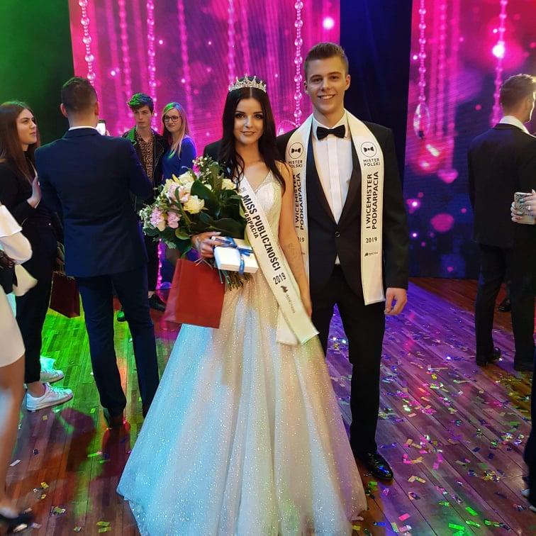 Kamil Mierzwa - konkurs Mister Podkarpacia
