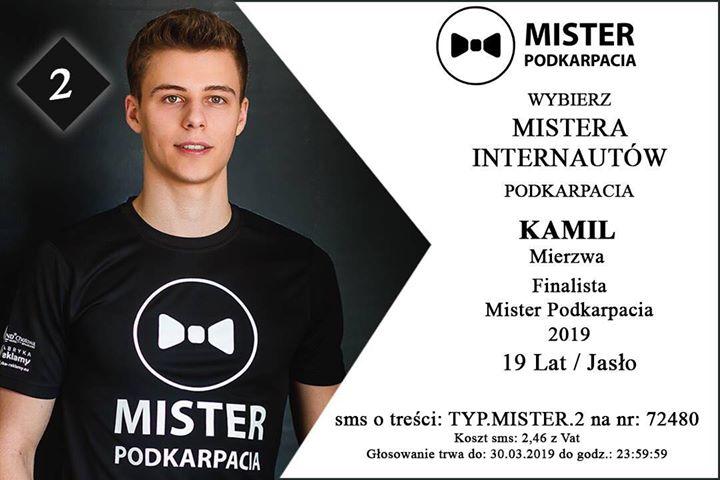 Kamil Mierzwa walczy o tytuł Mistera Podkarpacia