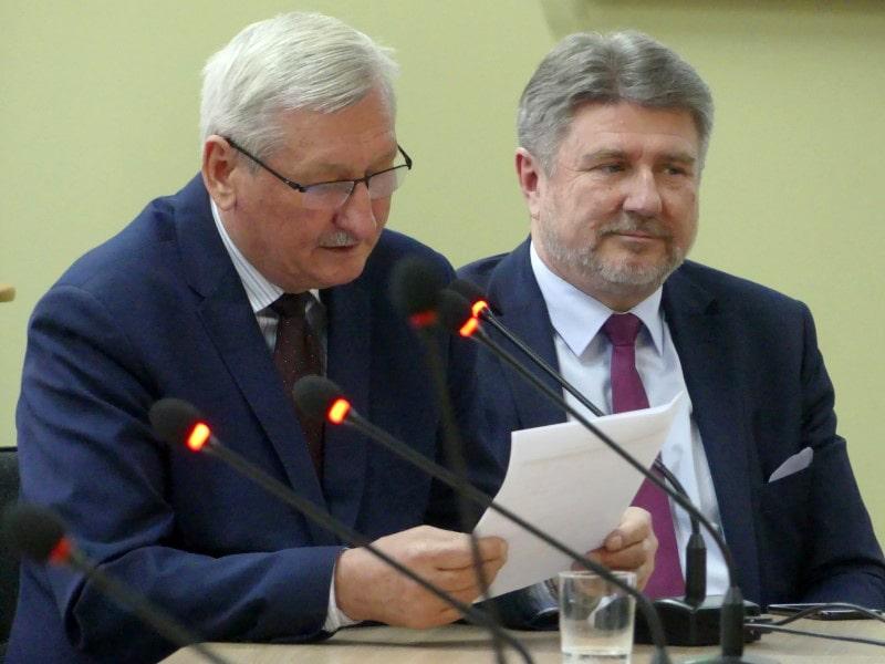 Spotkanie w sprawie drogi DW 993 - Powiat Jasło