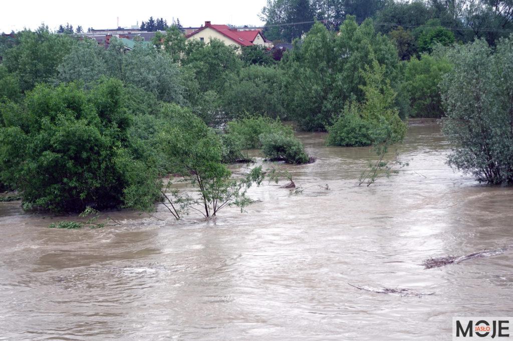 Zagrożenie powodziowe - Jasło 05.2019 r.