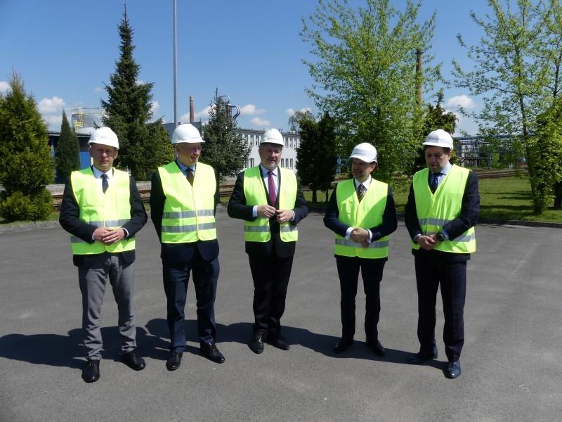 Wizyta Wiceprezesa Lotos S.A. w Rafinerii Jasło