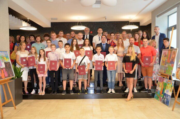 Burmistrz nagrodził jasielskich sportowców