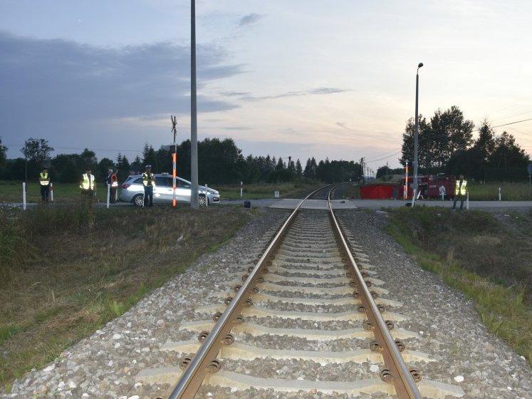 Tragiczny wypadek przejazd kolejowy Szebnie