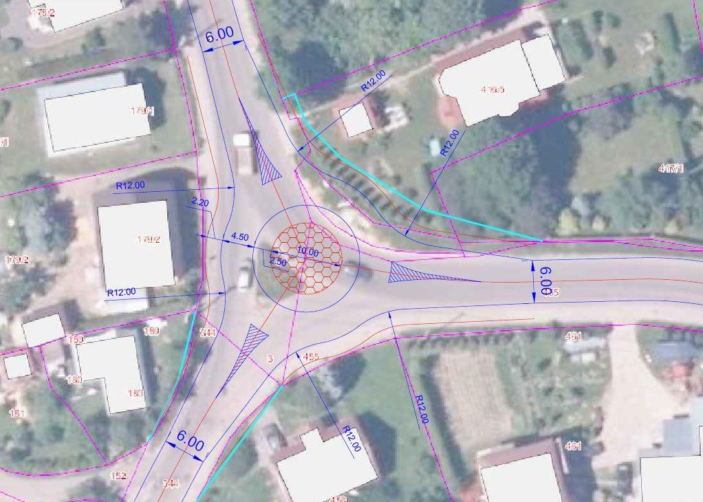 Poprawa bezpieczeństwa na skrzyżowaniu w Sobniowie