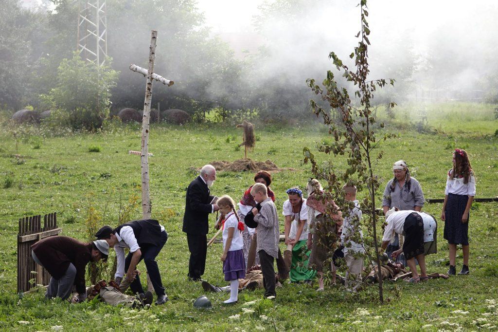 """Memoriał Hubala widowisko """"Wrzesień 1939"""" - galeria"""
