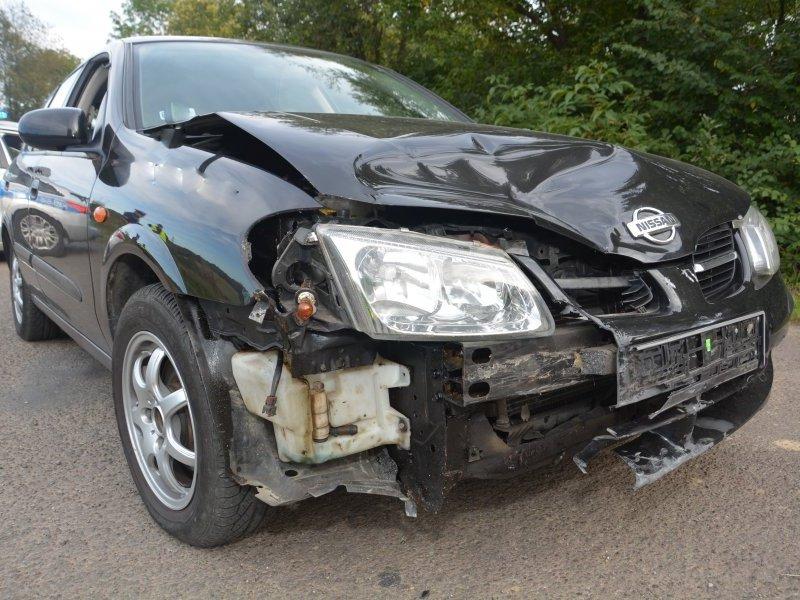 Wypadek w Tarnowcu k. Jasła