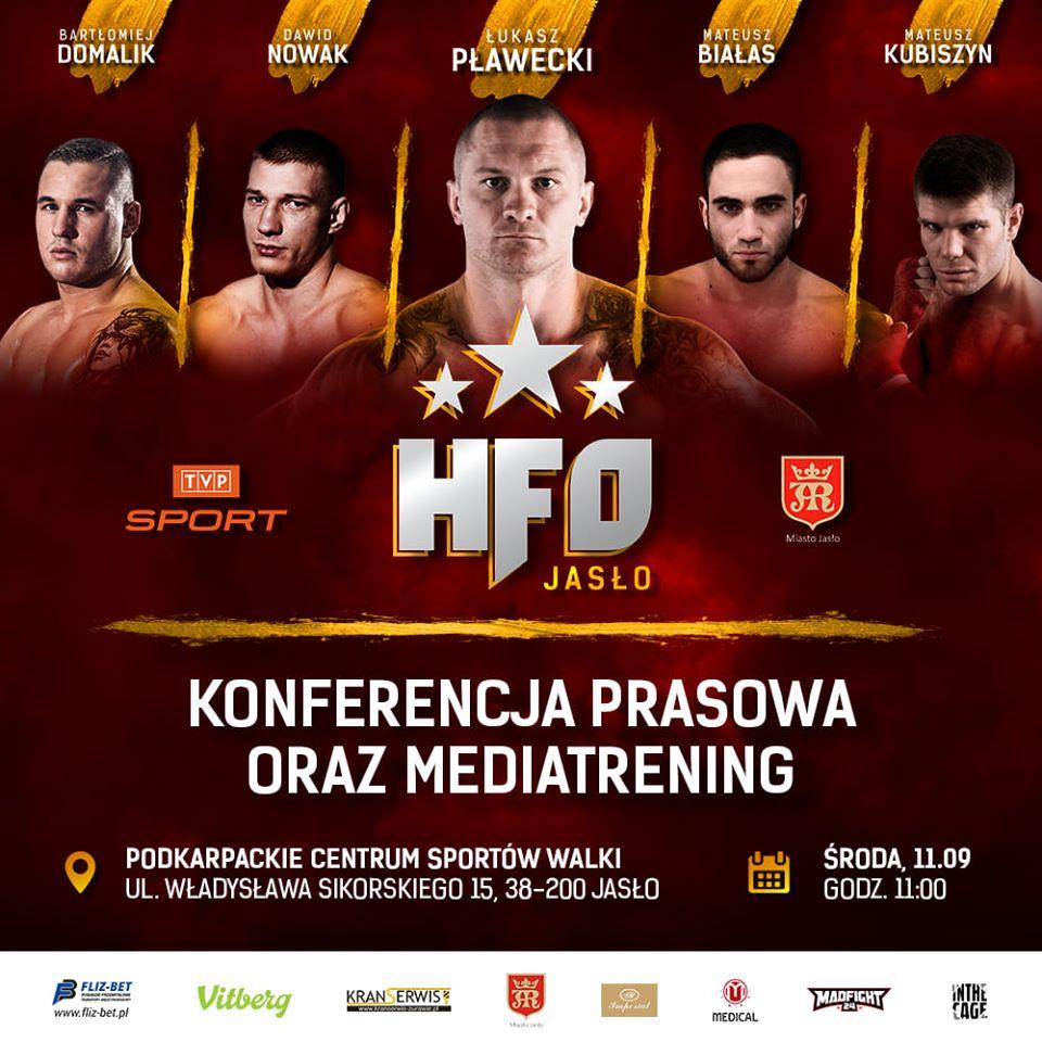 Gala HFO: Spartan Night - konferencja