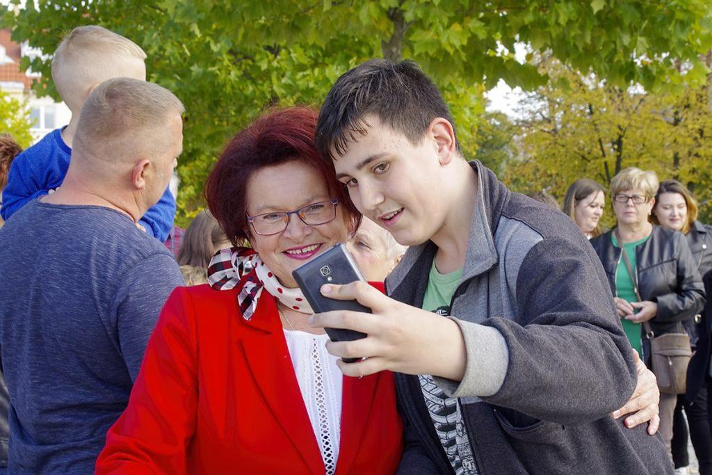 Relacja ze spotkania z Marią Kurowską w Jaśle
