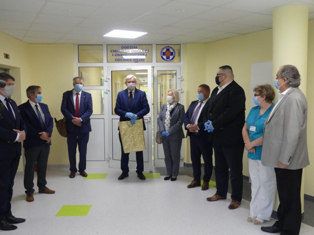 Oddziału Chirurgii Ogólnej i Onkologicznej Szpitala Specjalistycznego w Jaśle