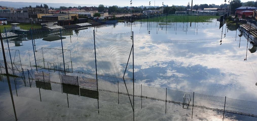 Straty po burzach w Jaśle