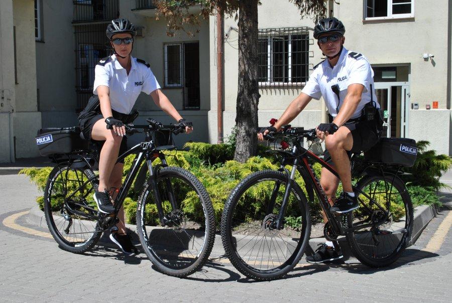 Policja na rowerach