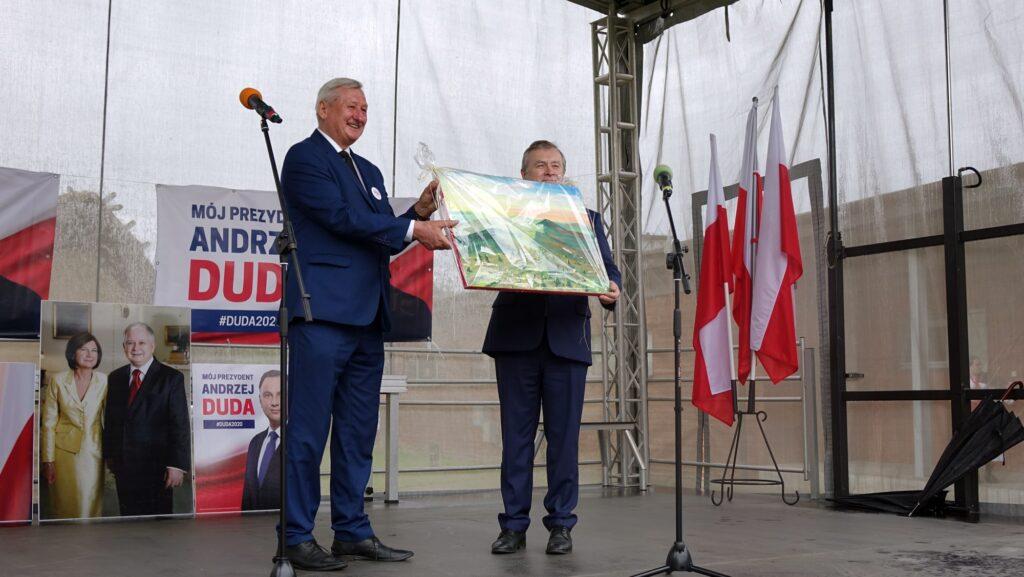Premier Piotr Gliński w powiecie jasielskim