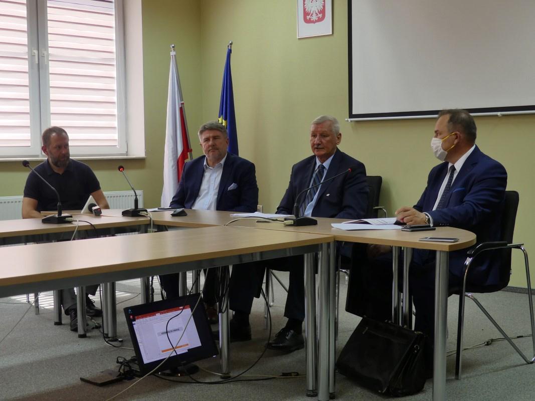 Konferencja prasowa na temat DK-73 Pilzno-Jasło
