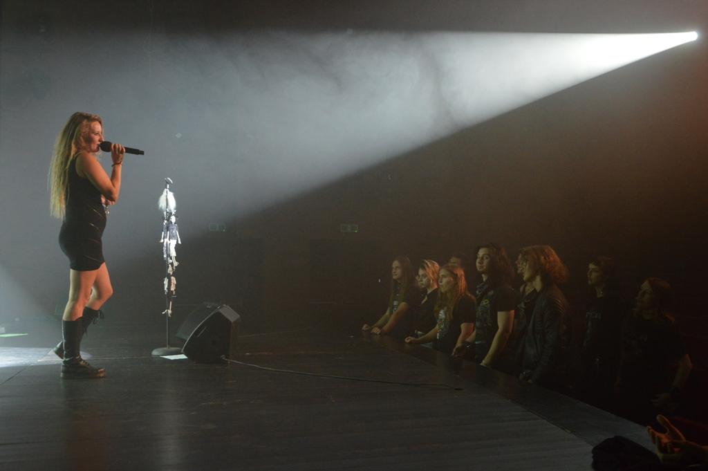 Krusher na scenie Jasielskiego Domu Kultury