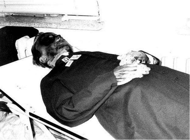 Ciało Jerzego Popiełuszki
