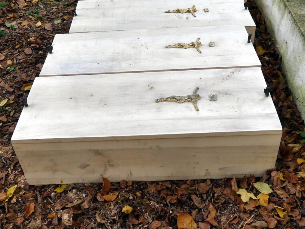 Pochowano szczątki wydobyte podczas budowy drogi wojewódzkiej 992 w Jaśle