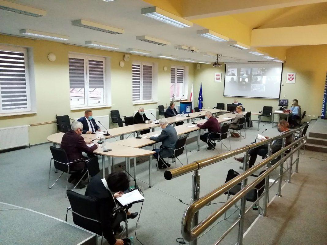 Sesja Rady Powiatu w Jaśle