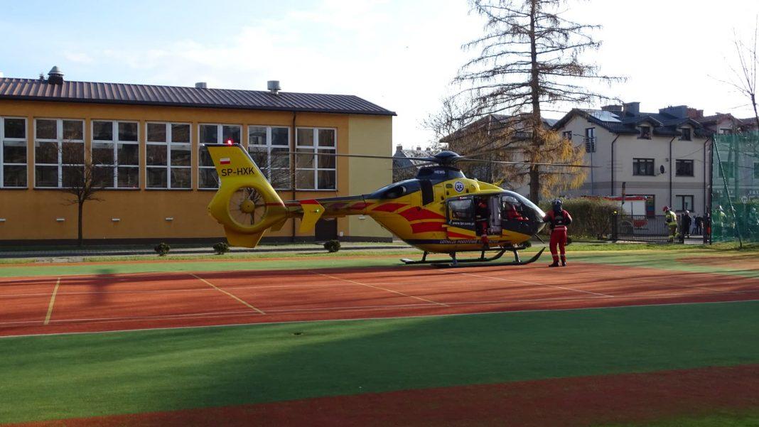 Helikopter LPR wezwany do rocznego dziecka