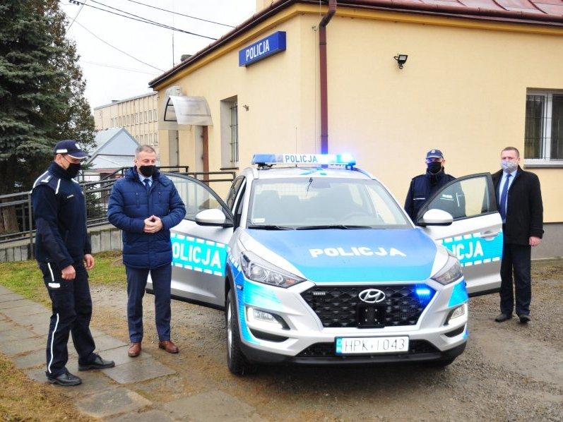 Nowy radiowóz dla Policjantów ze Skołyszyna