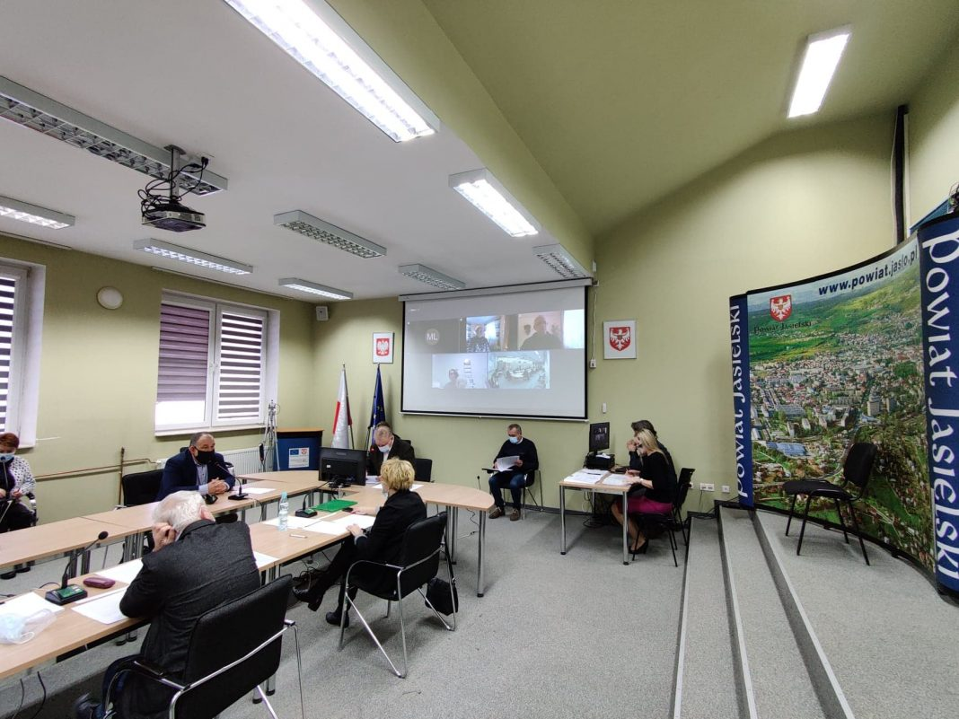 XXXVIII Sesja Rady Powiatu w Jaśle