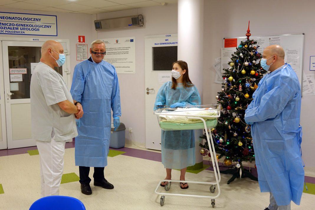 Pierwsze narodziny w jasielskim szpitalu w 2021 roku!