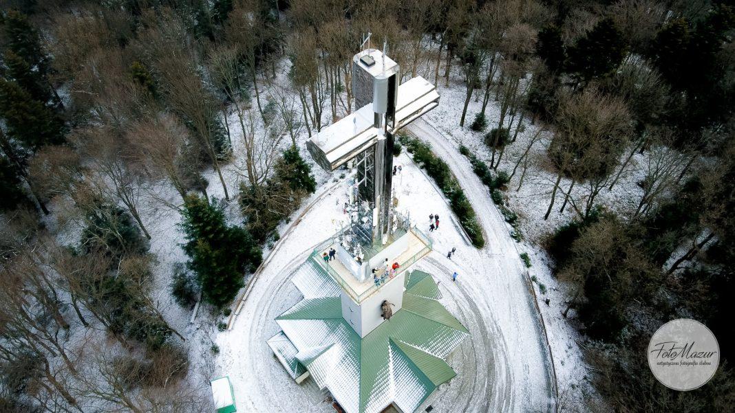 Wieża widokowa na Górze Liwocz