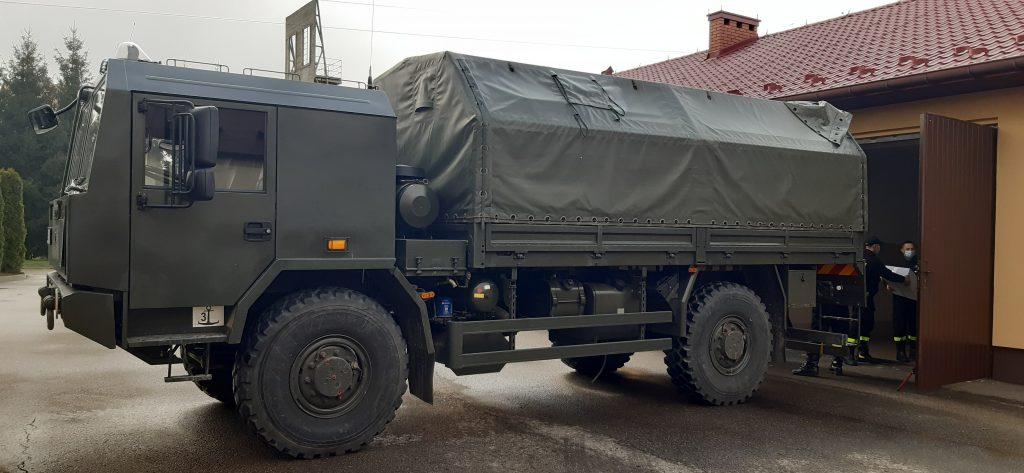 Samochód wojsk obrony terytorialnej