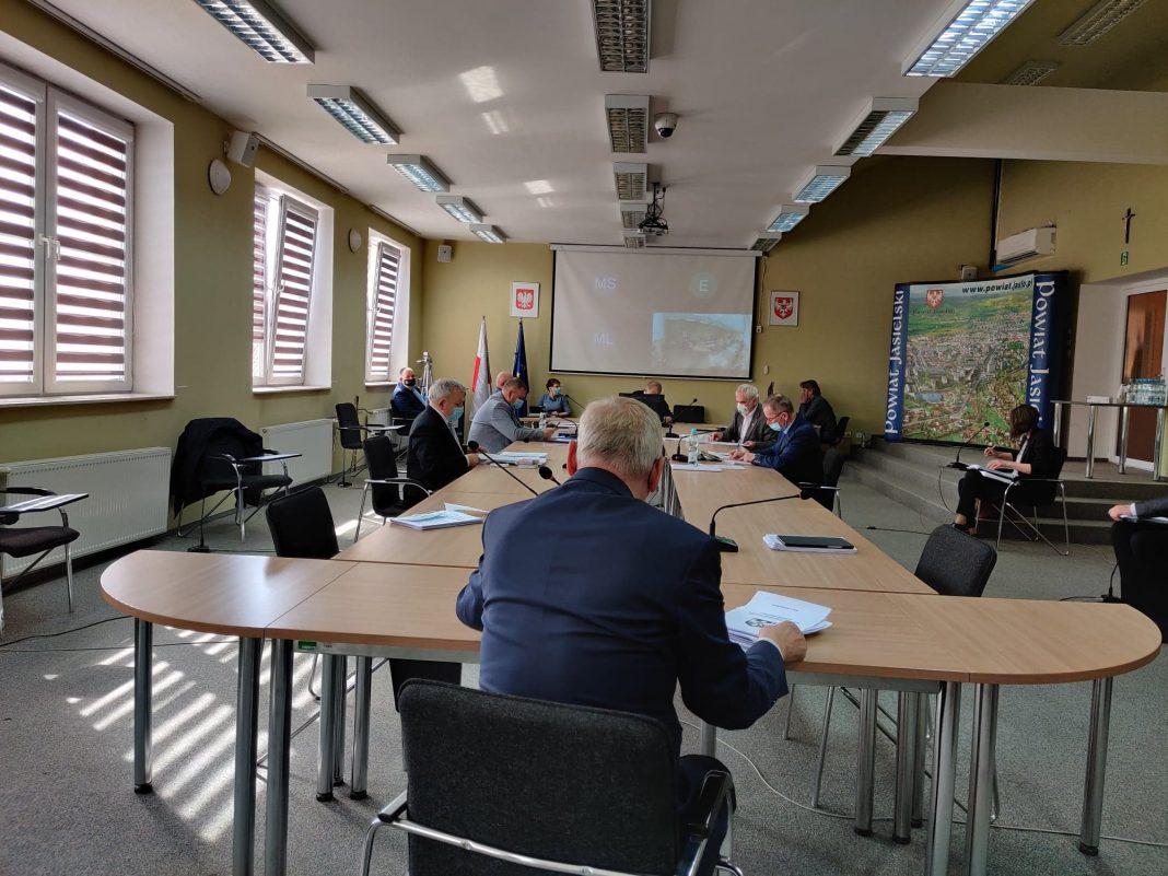 XLII Sesja Rady Powiatu w Jaśle