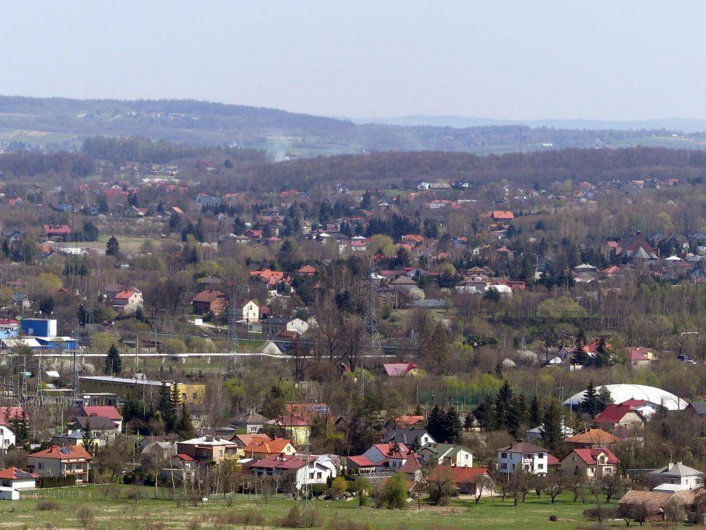 Piękne widoki z Karpackiej Troi - panorama Jasła