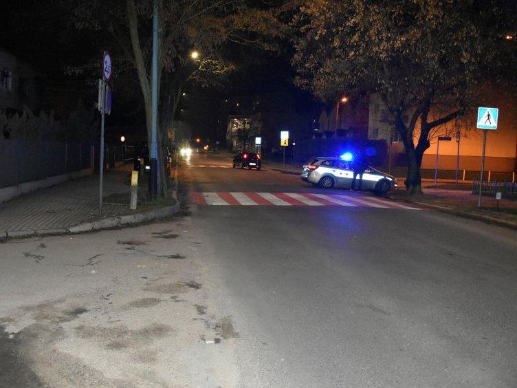 Kobieta potrącona na przejściu dla pieszych - Jasło Baczyńskiego