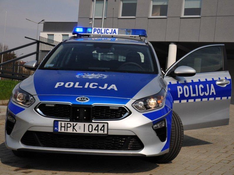 Nowy radiowóz jasielskiej policji - Kia Ceed