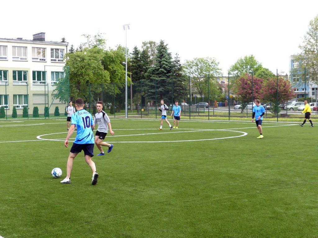 Nowe boisko przy Zespole Szkół Budowlanych w Jaśle