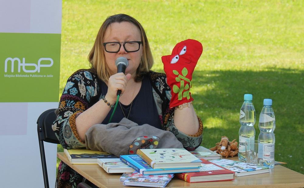 Justyna Bednarek - Miejska Biblioteka Publiczna w Jaśle