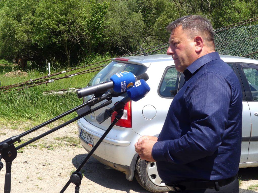 Andrzej Stachurski - zbiornik Kąty-Myscowa