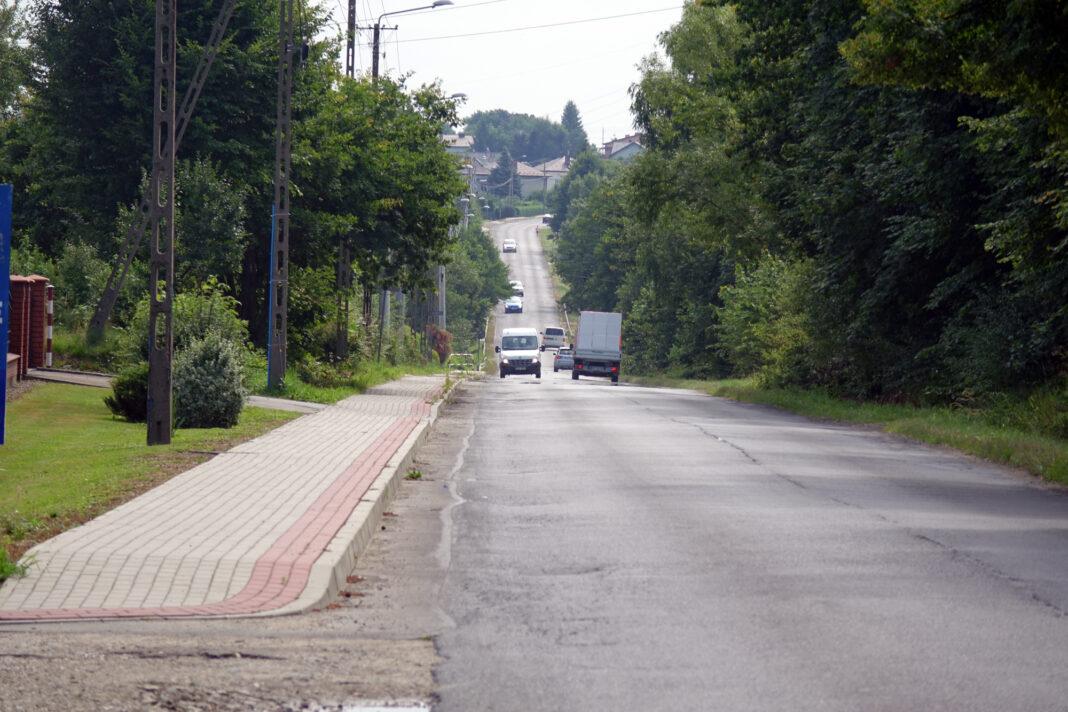 Zniszczona część drogi Jasło – Mickiewicza zostanie odbudowana!