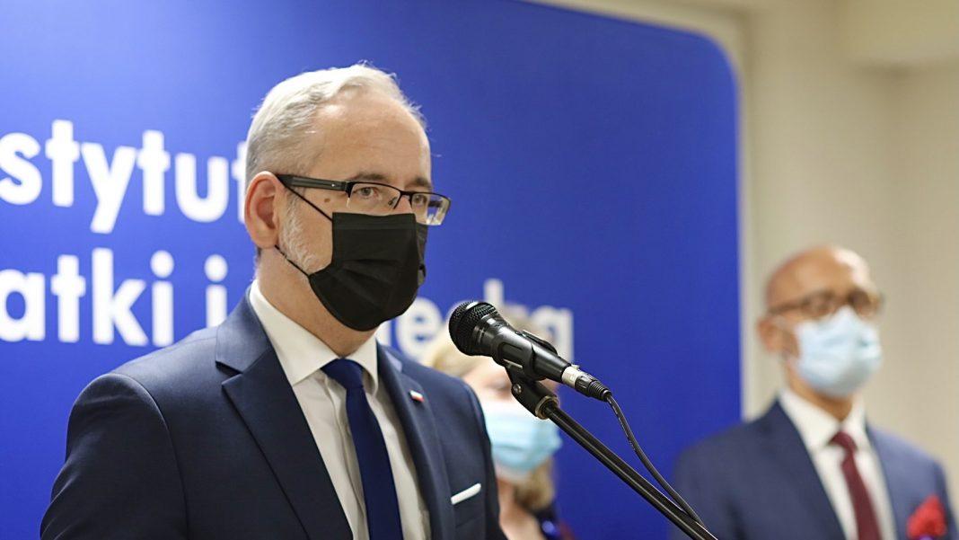 Minister Zdrowia Adam Niedzielski - Powiat jasielski obostrzenia