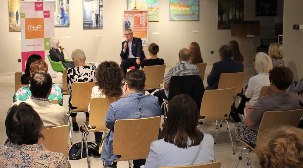 Spotkanie z Arturem Andrusem w Jaśle