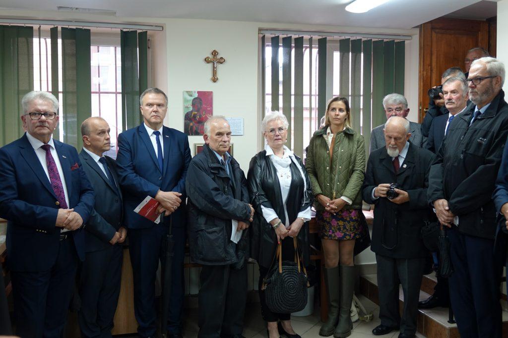 Izba Pamięci im. Jerzego Polaka w Zespole Szkół nr 4 w Jaśle