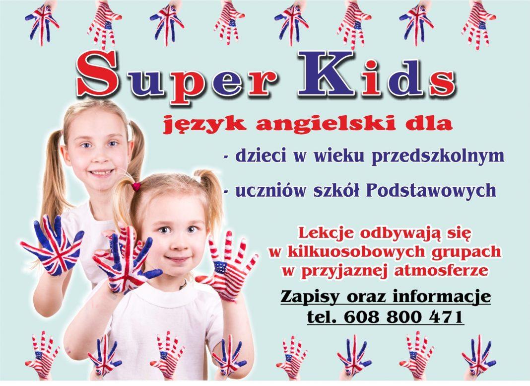 Język angielski w Super Kids. Zapisy w Jaśle