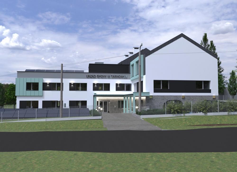 Urząd gminy w Tarnowcu doczeka się rozbudowy