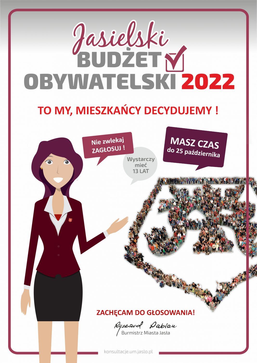 Miasto Jasło. Zagłosuj na swoim osiedlu – trwa Jasielski Budżet Obywatelski