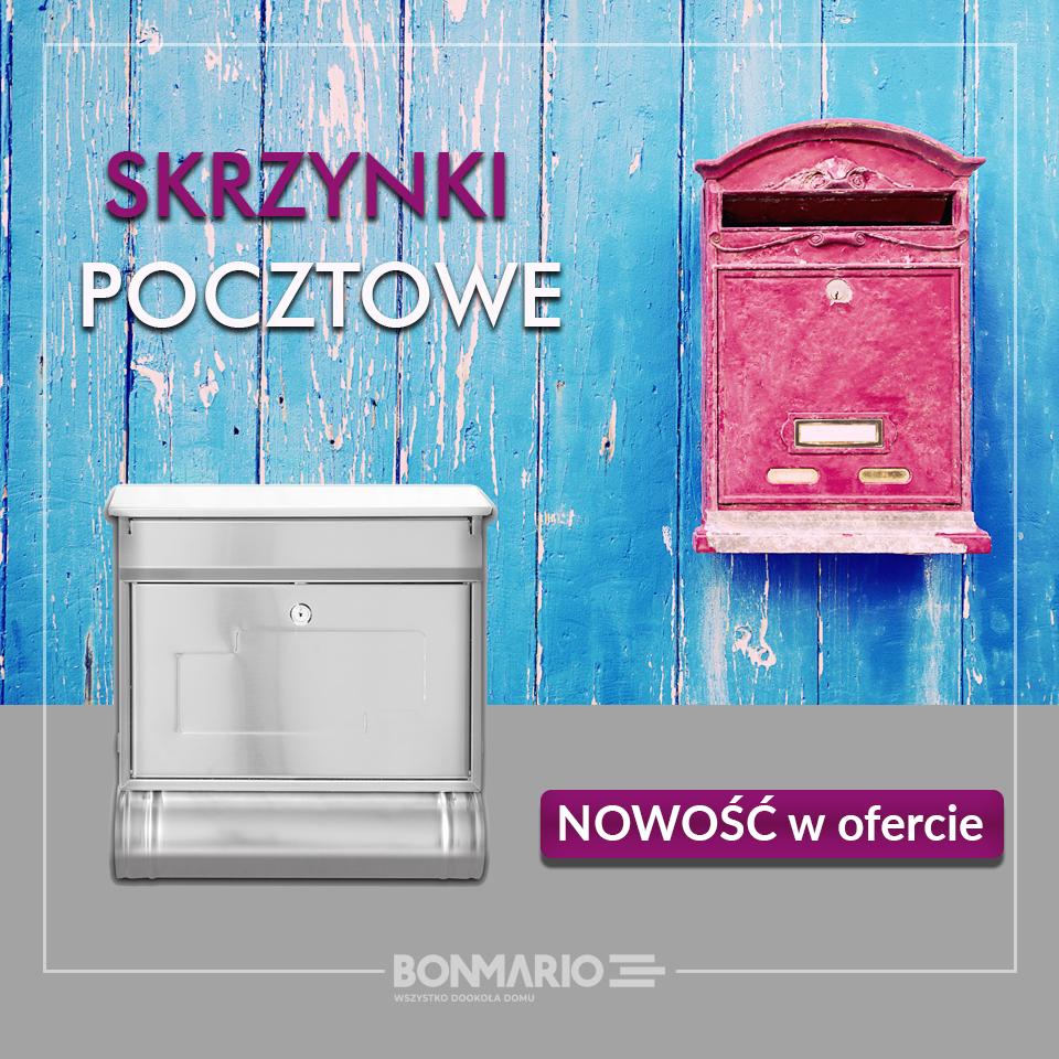 Sprawdź skrzynki na listy w sklepie internetowym bonmario.com!